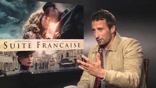 Matthias Schoenaerts Interview Suite Francaise