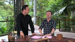 McFly's Dougie Poynter trial in I'm a celebrity get me out of here 2011 part 2