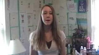 me singing Delta Dawn