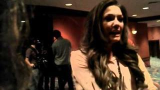 Meeting Dallas Lovato before Demi's Concert in Chicago 12/03/11