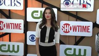 Meghan Ory from 'Intelligence' arrives at CBS, CW and Showtime