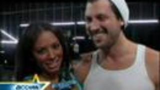 Mel & Maks rehearse for their 100th episode dance