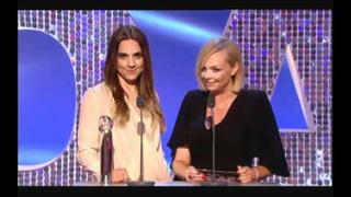 Melanie C and Emma Bunton - British Soap Awards 2012