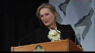 meryl accepts coolidge award