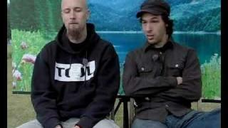 Meshuggah & Dillinger Escape Plan Live + Interview