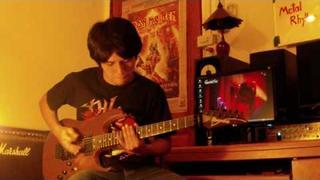 Metal Rhythm 2 - Andy James - BANK PSV (guitar cover)
