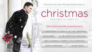 "Michael Bublé - ""Christmas"" Exclusive First Listen"