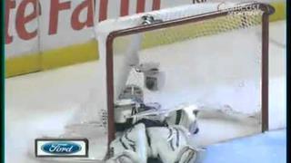 Michael Frolik Penalty Shot Goal (Pat Foley Call)