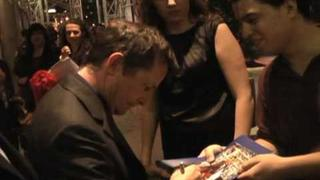 Michael J. Fox meets fans in New York City