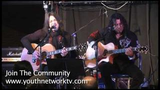 Michael Sweet & Oz Fox Live Acoustic Set At Gospel Music Week 2009 Stryper Boston Singer