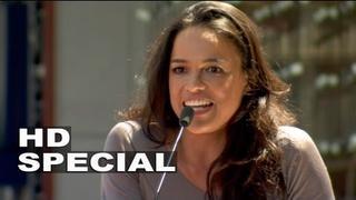 Michelle Rodriguez: Projev u příležitosti předání hvězdy Vinu Dieselovi na Hollywoodském chodníku slávy