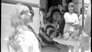 Mick Jagger Keith Richards Anita Pallenberg Marianne Faithfull in Brazil 1968 1969
