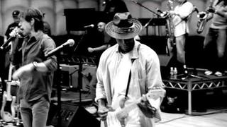 Mick Jagger & Raphael Saadiq - Grammys Rehearsal