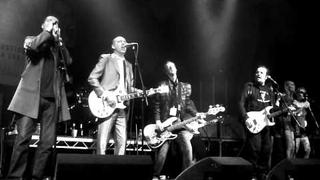 Mick Jones from The Clash The Farm Pete Wylie Armagideon Time live Liverpool 24the Sept 2011