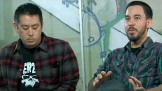 Mike Shinoda and Joe Hahn on MySpace (Andrew Leezan)