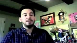 Mike Shinoda (Linkin Park) TinyChat With Fans