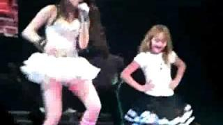Miley Cyrus and Noah Cyrus dancing