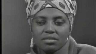 Miriam Makeba Interview - 1966