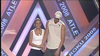 Monika Absolonová & Petr Svoboda - Sportovní víla (Atlet roku 2008)