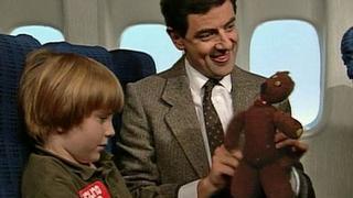 Mr Bean - On a Plane