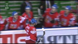 MS 2011 Česko Vs. Rusko - Jan Marek gól na 6:4 (Utkání o bronz)