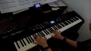 Muse - Hysteria - piano cover [HD]