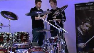 Music Fair 2011 Sonor Drums Christoph Schneider Rammstein