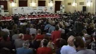 Nagano 1998 Czech Hockey Team Press Conference