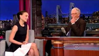 Natalie Portman interview on David Letterman November 6, 2013