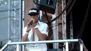 Ndubz Playing with Fire Live Guilfest 2010 HD Tulisa calls Dappy a Wanker