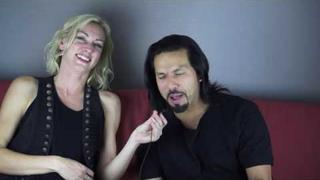 New Pop Evil interview with Leigh Kakaty introducing new drummer Hayley Cramer