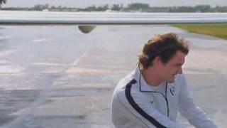 New Roger Federer Netjets commercial