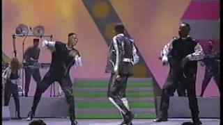 NEWJACKSWING! BOBBY BROWN - MEDLEY WITH DOPE STEP!