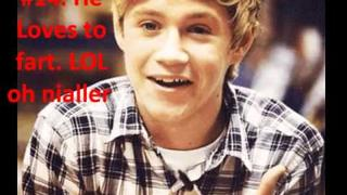 Niall Horan #Facts:)