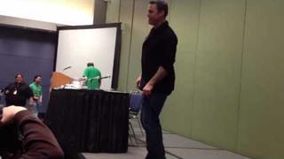 Nicholas Brendon Snoopy dance
