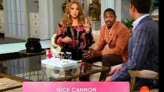 Nick Cannon Visits Mariah Carey LIVE on air on HSN