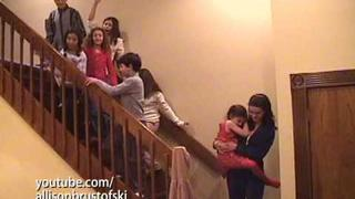 Nick Jonas, Tiffany Giardina, Allison Brustofski & the Sound of Music Kids