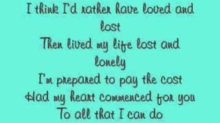 Nick Lachey - The Chance You Didn't Take with Lyrics