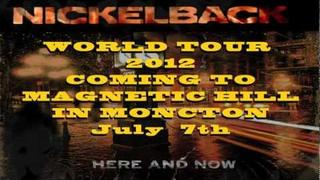 Nickelback Live at Magnetic Hill in Moncton July 7th