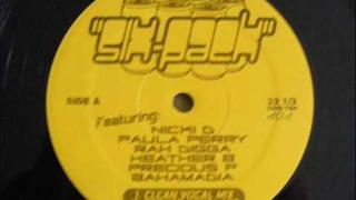Nicki D Paula Perry Rah Digga Heather B Precious P Bahamadia - Six Pack