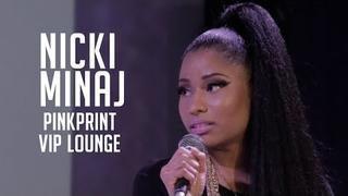 "Nicki Minaj celebrates her ""Pinkprint"" release with her Barbs and Ebro"