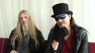 Nightwish interview - Tuomas Holopainen and Marco Hietala (part 1)