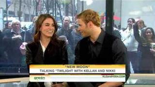 Nikki Reed & Kellan Lutz On The Today Show (November 20th 2009)