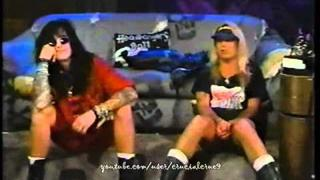 Nikki Sixx & Vince Neil host Headbanger's Ball