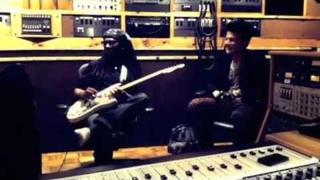 Nile Rodgers & Adam Lambert in the studio