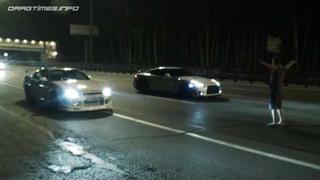 Nissan Skyline GT-R vs Nissan GT-R and Corvette ZR1 vs Nissan GT-R