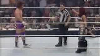 Nitro & Melina vs Carlito & Trish Stratus
