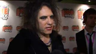 NME Awards 2009 - Reaction from The Cure's Robert Smith