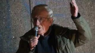 Noam Chomsky at Occupy Boston