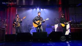 Noel Gallagher's High Flying Birds - If I Had A Gun...David Letterman 11-10-11
